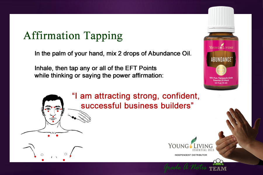 EFT Affirmation Tapping Attract Business Builders